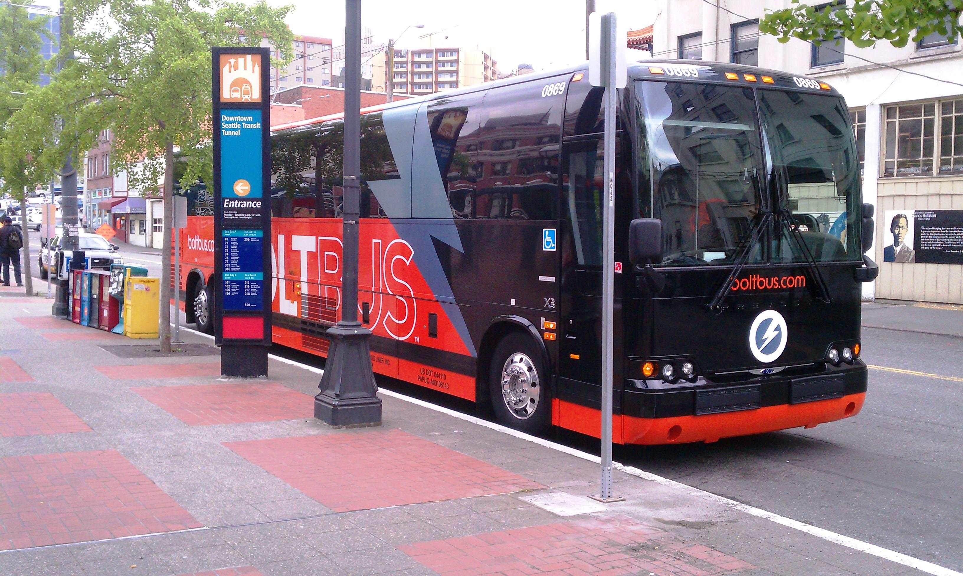 bolt bus bellingham to seattle