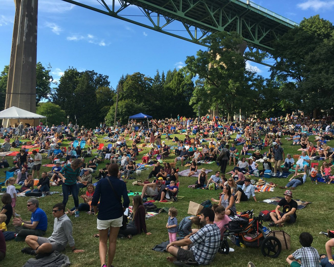 Cathedral Park Jazz Festival 2020.Summer Events Round Up Portland