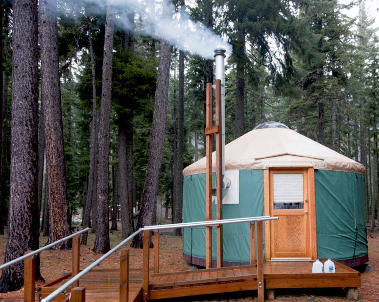 Yurt Camping / Read more than 20 reviews and choose a room why tourists like yurt camping.
