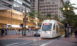 MAX Light Rail connects downtown Portland to points throughout the city and region, including PDX International Airport.
